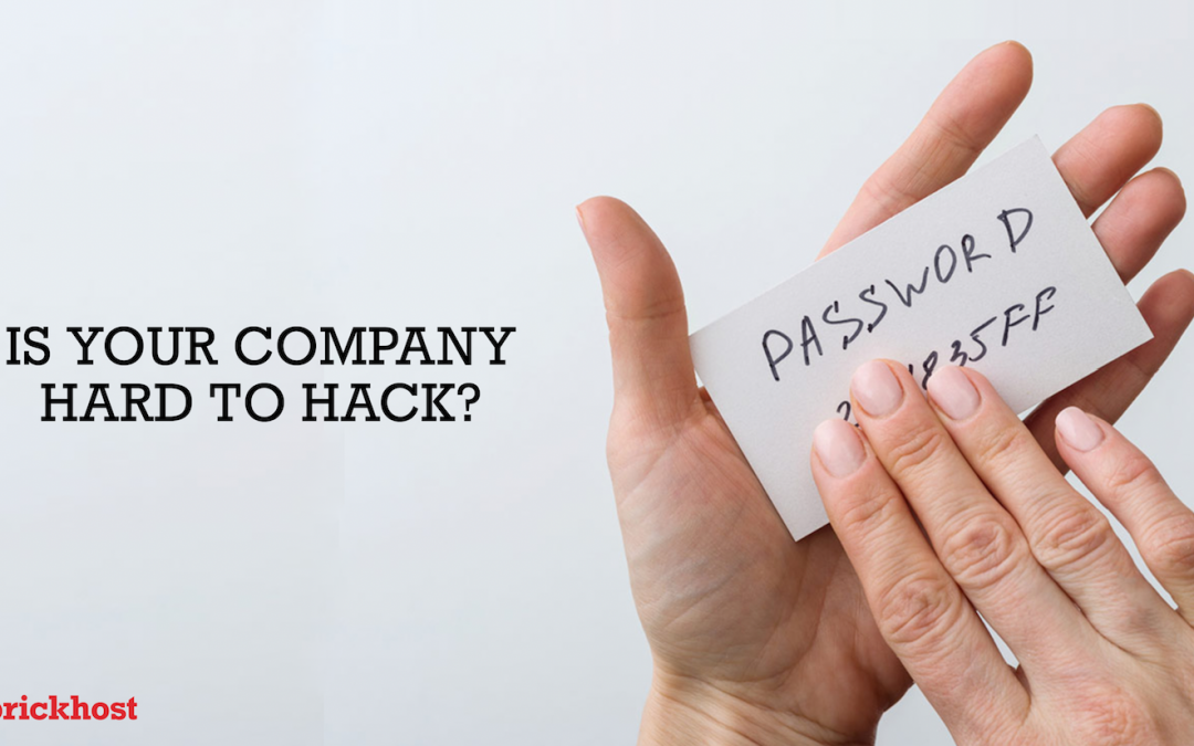 How do you make your company hard to hack?